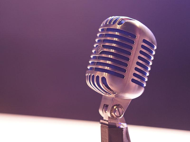 Journalism Microphone